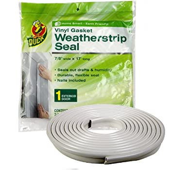 Duck Brand 1280121 1/4-Inch-by-7/8-Inch-by-17-Feet Gasket Weather Seal
