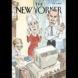 The New Yorker, November 11th 2013 (Nicholas Lemann, Anne Applebaum, John Cassidy)