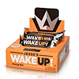 Cheap Jesse's WakeUP! Energy Bars (1 Bar = 3 Espressos) – All Natural Caffeine, Dark Chocolate Rice Crisp Bar (100 Calories) – Vegan, Kosher, Soy Free, Gluten Free, Nut Free, Non-GMO (6 Count)