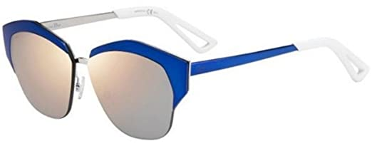 f1cfc16db12f Amazon.com  New Christian Dior MIRRORED I24 TE pink silver violet  multilayer Sunglasses  Clothing