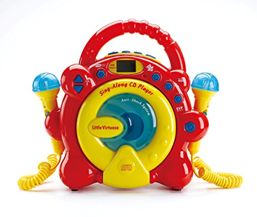 Little Virtuoso Red Sing Along CD Player (Cd Player Kids Along Sing)