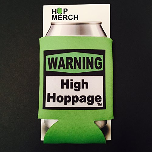 High Hoppage Can Cooler - Homebrew, Homegrown, Craftbeer, Hops, Koozie, Coozie