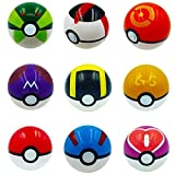 Kool-KiDz-9-Pieces-Different-Style-Ball-9-Pieces-Figures-Plastic-Super-Anime-Figures-Balls-for-Kids-Toys-Balls-Kit