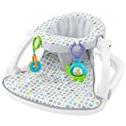 Fisher-Price Sit-Me-Up Floor Seat, Honeydew Drop