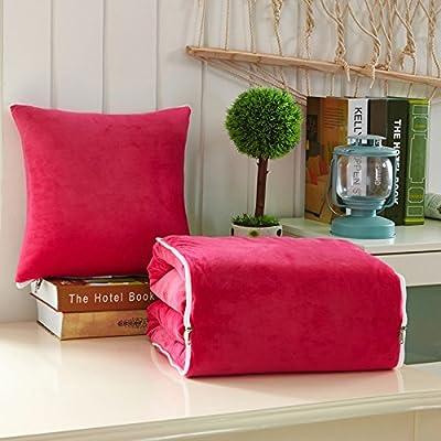 JinYiDian'Shop-couverture oreiller frais en été en soie de glace coussin oreiller oreiller office est la climatisation automobile quilt deux être ,g,200*155cm