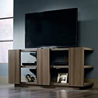 Sauder International Lux TV Stand in Diamond Ash