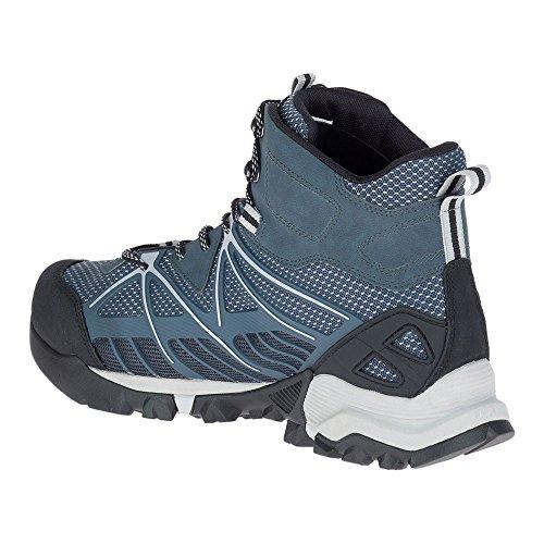 Merrell Mens Capra Venture Mid GTX Surround Hiking Boot Slate p5p0z