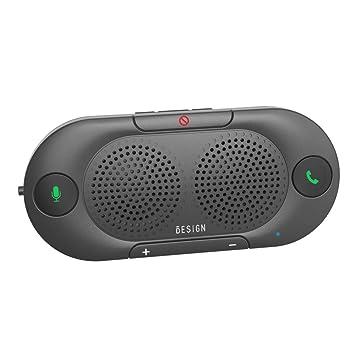 Besign BK06 Manos Libres Bluetooth para Coche, Altavoz Bluetooth ...