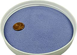 Colored Sand Safe for Play and Pets 20lbs (Blue) For Vase Filler, Decoration, Aquarium, Sandboxes, Substrate and Landscaping