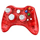 Xbox 360 Wireless Controller Zoewal FA03 Wireless Game Pad Controller for Windows and Xbox 360 Console-Red (Third-party manufacturing) Review