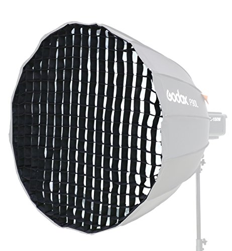 Godox Honeycomb Grid for Godox P90L P90H and Aputure Light Dome 35.4 inch 16 Rods Octagon Parabolic Softbox - Only (Rod Grids)