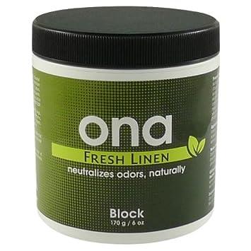 Amazon.com: ONA bloque de lino fresco 6oz 700325: Health ...