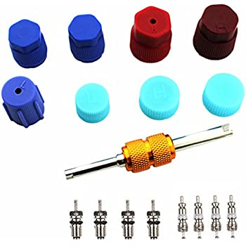 Amazon Com Air Conditioning Valve Core Kit Car Amp Home