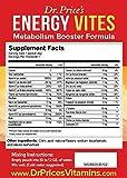 Energy Vites: Metabolism Booster Formula + Complete B Complex, Biotin, L-Tyrosine, B12 & CoQ10 for Natural Energy & Focus | (30 powder packets) NEW! Energy Drink Mix | Dr. Prices Vitamins | No Sugar, No Caffeine, Non-GMO & Gluten Free