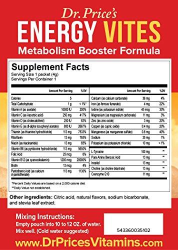 Energy Vites Metabolism Booster Formula B Complex
