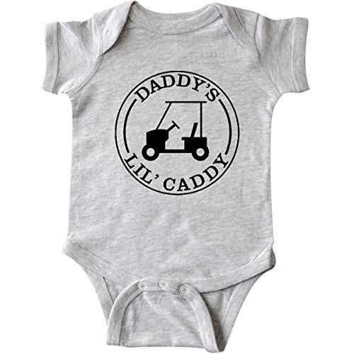 inktastic-unisex-baby-daddys-lil-caddy-infant-creeper-newborn-heather-grey