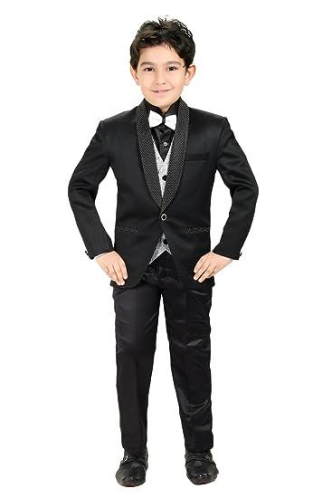Buy Kute Kids Boy's Coat Suit Set With Shirt & Tie Set at Amazon.in