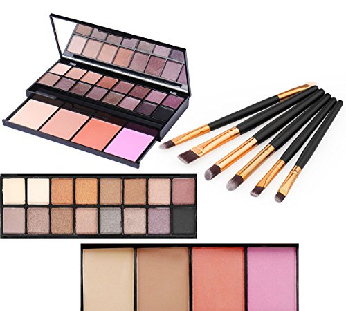 Vodisa 20 Color Professional Makeup Palette with Eyeshadow,