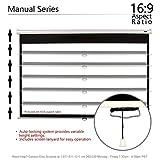 Elite Screens Manual Series, 113-INCH 1:1, Pull