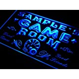 PL-tm Name Personalised Custom Game Room Man Cave Bar Beer Neon Sign