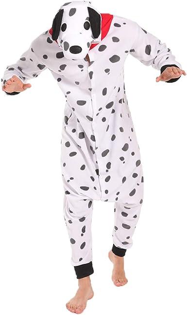 FORLADY Pijama Dálmata Disfraz de Cosplay para Adultos Pijamas de ...