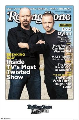Breaking Bad - Rolling Stone Cover TV Poster