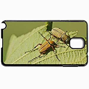 Customized Cellphone Case Back Cover For Samsung Galaxy Note 3, Protective Hardshell Case Personalized Insect Black