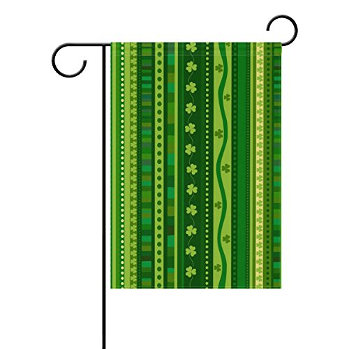 Cooper girl Green St. Patrick's Day Background Garden Flag Y