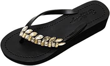 7ebf2b43ba7b5 Sand by Saya Women s Sandals by Comfy Crystal Chic for Dates