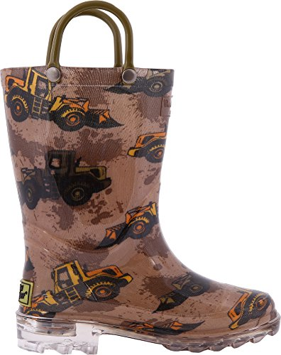 Pictures of Western Chief Kids Mens Busy Bulldozer Lighted 2