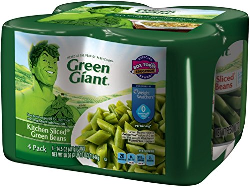 Green Giant Vegetables - Green Giant Kitchen Sliced Green Beans, 14.5 Ounce, 4 Count