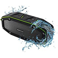 Rockville RPB27 20w Rugged Portable Waterproof Bluetooth Speaker (Black)