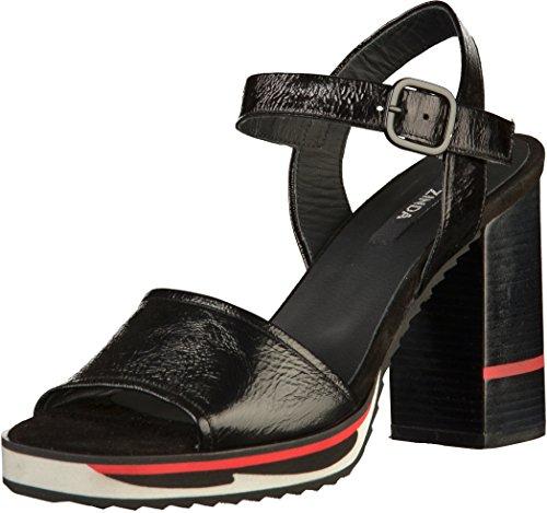 Femmes 3455 Sandale Noir Metsof Zinda nzRqwBYg