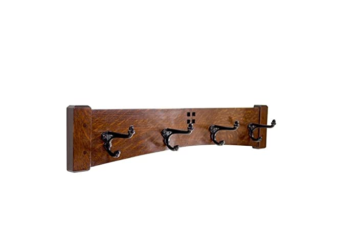 Amazon Arts And Crafts Style 400 Inch 40 Cast Iron Hook Coat Rack Delectable 24 Inch Coat Rack