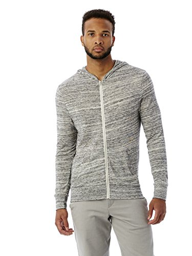 Alternative Men's Space Dye Eco Zip Hoodie
