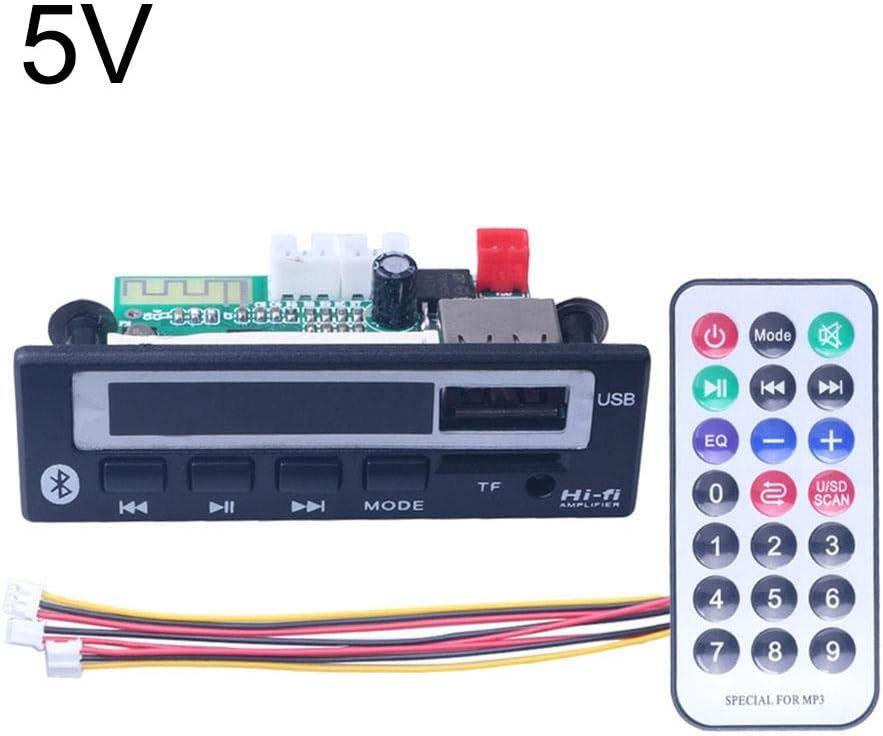 Taimot DC 5V 12V Dual Channel MP3 Decoder Board Decodierung Modul Unterst/ützung MP3,Bluetooth MP3 WMA Decoder Board Wireless Musik MP3-Decoder Board Audio FM Radio Modul