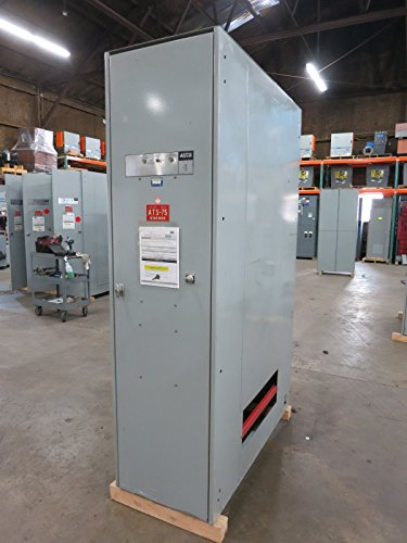 ASCO E940360097C 600A 480V Non-Automatic Transfer Switch Bulletin 940 600 Amp (Asco Switch Automatic Transfer)