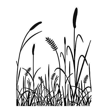 Darice Embossing Folder, 4.25 by 5.75-Inch, Grass Silhouette Darice (DARIE) 1218-75