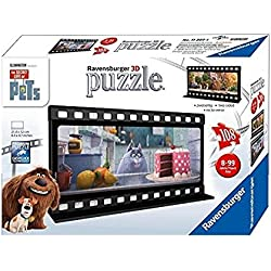 Ravensburger The Secret Life of Pets Filmstrip 2 Two Sided 108 Piece Jigsaw Puzzle for Kids - Every Piece is Unique, Pieces Fit Together Perfectly