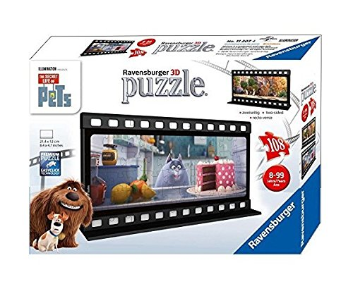 Ravensburger The Secret Life of Pets Filmstrip 2 Two Sided Puzzle (108 Piece)