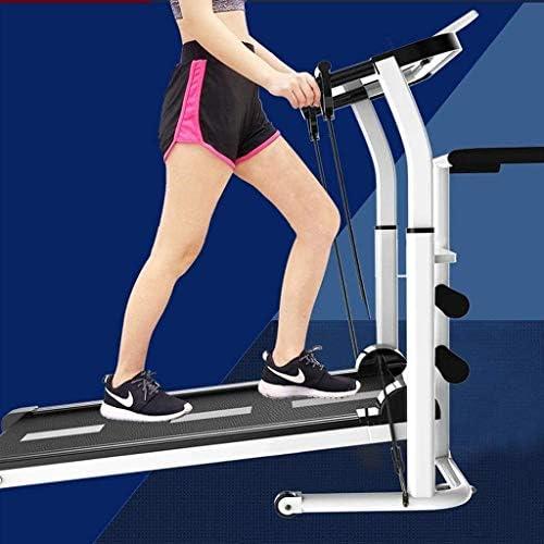 SMQHH Treadmills Cardio Training, Folding Treadmill Home Fitness Equipment 4