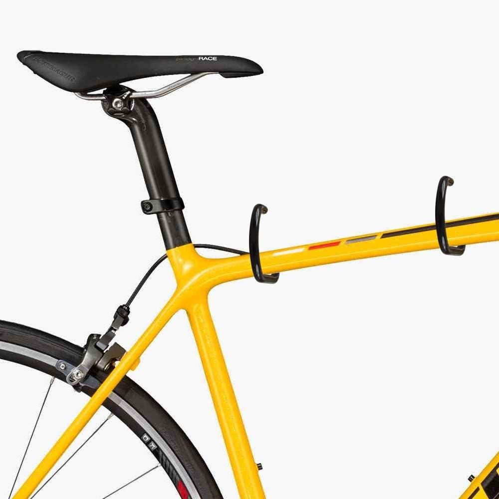 Cozihom Juego de ganchos de acero inoxidable para almacenamiento de bicicletas juego de 10 unidades