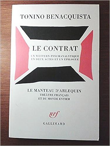 Livre Le Contrat pdf