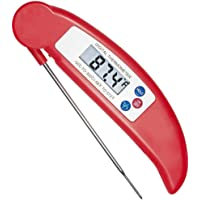 flintronic Digitale vleesthermometer, keukenthermometer, huishoudthermometer, instant read grillthermometer voor braden…