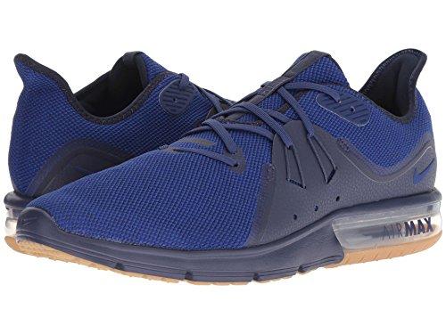 アウトドアパウダーフォージ[NIKE(ナイキ)] メンズランニングシューズ?スニーカー?靴 Air Max Sequent 3 Obsidian/Deep Royal Blue/Neutral Indigo 10 (28cm) D - Medium