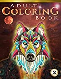Adult Coloring Book: 70+ Stress-relieving designs