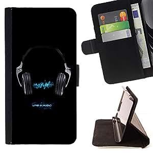 For Samsung Galaxy S6 EDGE (NOT S6) Plus / S6 Edge+ G928 Case , Vivo 4 Música- la tarjeta de Crédito Slots PU Funda de cuero Monedero caso cubierta de piel