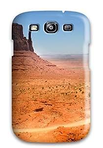 (RDzWQhP1735etlms)durable Protection Case Cover For Galaxy S3(desert Rocks)