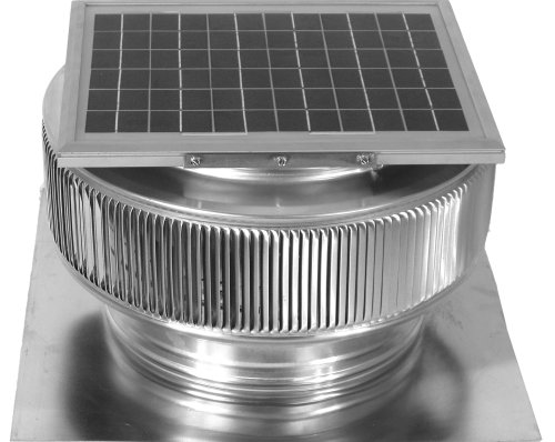 12'' Aura Solar Attic Fan by Aura