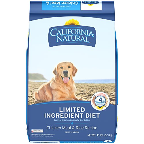 Chicken Meal Recipe (CALIFORNIA NATURAL Adult Limited Ingredient Chicken Meal and Rice Recipe Dog Food 13 Pounds)